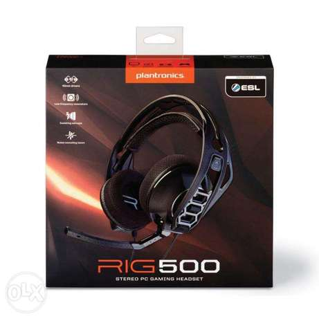 Gaming Headset - Plantronics Rig 500