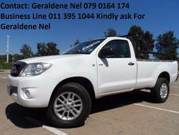 2011 Toyota Hilux 2.5 D4D s/cab SRX Good Condition FSH Call Now