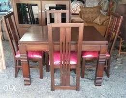 dining set. table plus 6 chairs