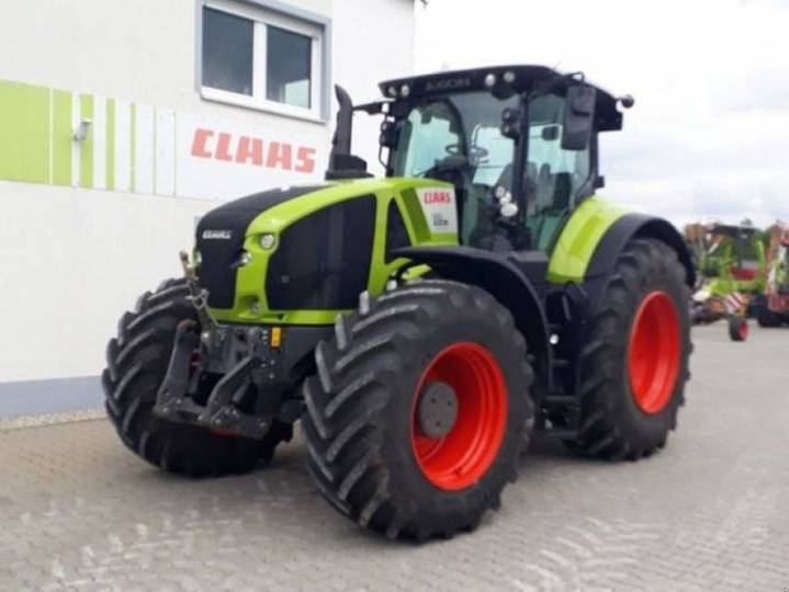 axion 930 stage iv cebis claas - 2018