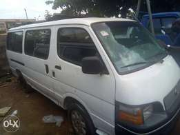 A clean Toyota commuter have for sale.