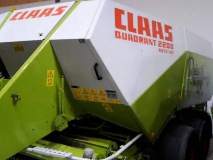 Claas quadrant 2200 ta - 2002