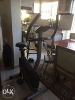 Trigan / exercise bicycle