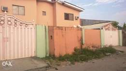 Distress Sale! Block of 4 flat comprising 3 bedroom each at Ajah