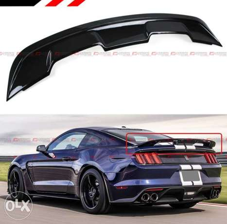 Mustang front and rear spoiler