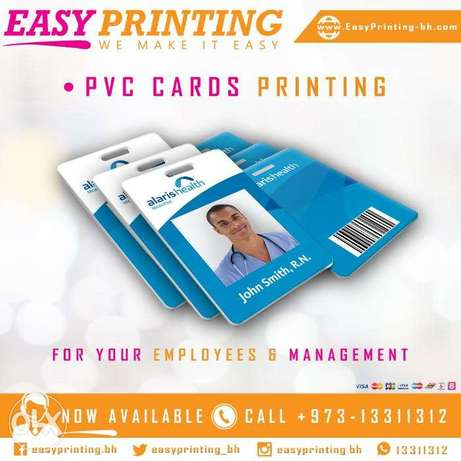 PVC Staff ID Cards Printing - With Free Delivery Service!