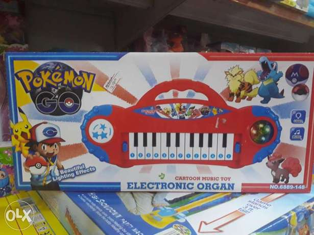 Pokemon electronic organ toys