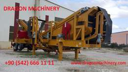 1.Secondary Crushing And Screening Plant Dragon 4000