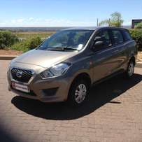 2016 Brown Datsun GO + 1.2 LUX 7 Seater Excellent Condition