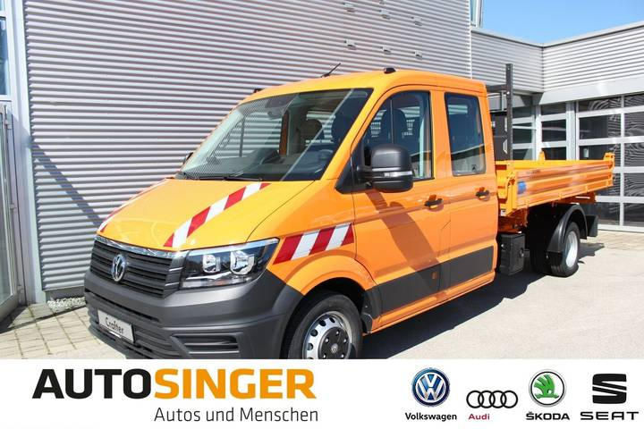 Volkswagen Crafter DoKa Meiller 3-Seitenkipper langer Radst - 2019