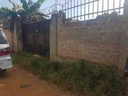 13 decimals for sale in namugongo, Nsawo, fenced with gate, near pasto