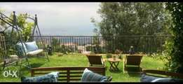 Ballouneh 280m2 + 250m2 gardens - panoramic view - apartment for sale