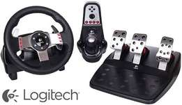 G27 Racing Wheel, pedals and H-shifter