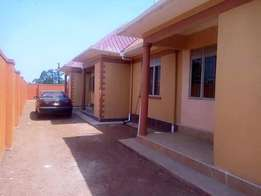 A two bedroom house for rent in Namugongo mbalwa