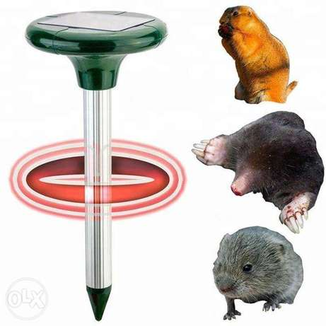 Solar Powered Ultrasonic Rat Mouse Mice Snake Pest Bird Mosquito Repel