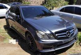 Mercedes E Class AMG 2012 at 3.2 Negotiable