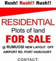 Rumuosi Airport Road New Layout Estate for sale (100plots)