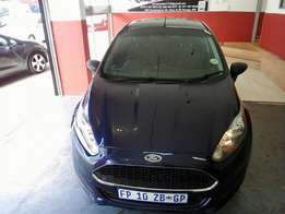 2016 Ford Fiesta Ambiente 1.4, Color Blue, Price R170,000.