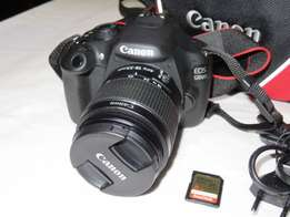 Canon EOS 1200D with 18-55 DC Lens