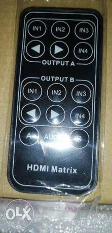 4*2 hdmi matrix with audio extract مدينة الشروق -  4
