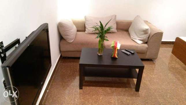 Furnished 1 bedroom w/terrace in mangaf.
