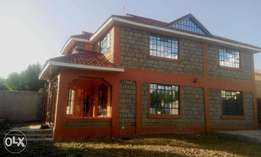 A 4 bedroom maisonette in Ongata Rongai.