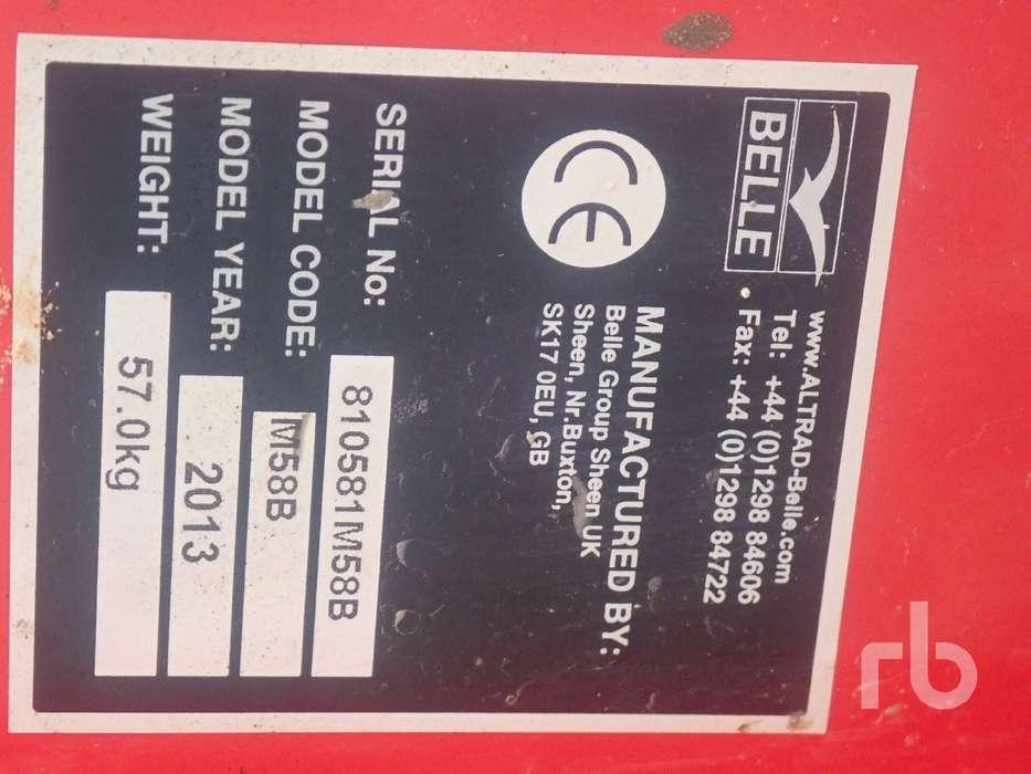 Belle MINIMIX 150 Concrete Mixer - 2013 - image 5