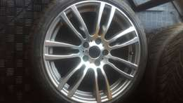 Bmw f30 19 inch motorsport rims and tyres