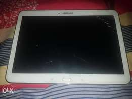 Neat Used white Samsung Galaxy Tab 4 for sale for just 50k.Don't mind