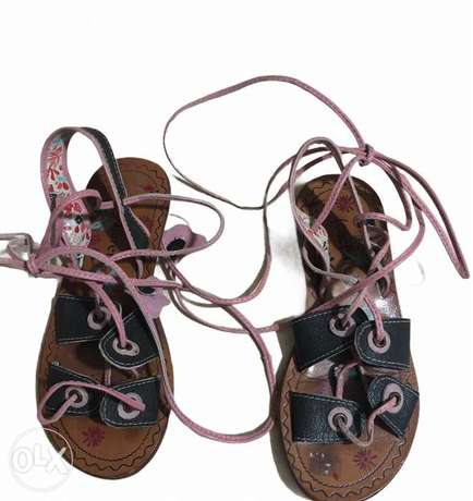 cacharel sandals lace up