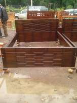 6*6 mahogany hardwood bed