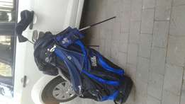 Tiger Shark Golfbag and clubs for sale