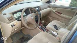 Very Clean Toyota Corolla 03/04 model. Chilling Ac, sound engine etc