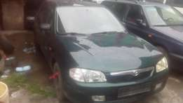 Super Clean Mazda 323f With AC Manual Tokunbo