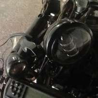 Harley Davidson Right Hand Indicator and Passing Light Assembly