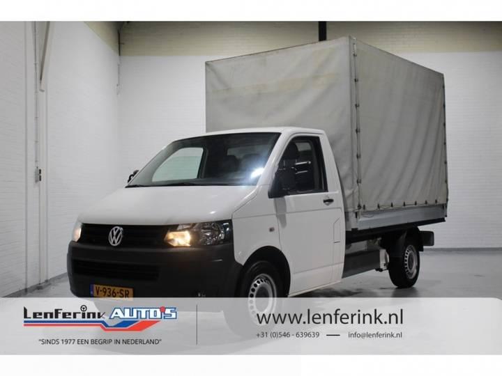 Volkswagen Transporter 2.0 TDI 102pk Pick-Up Huif - 2011