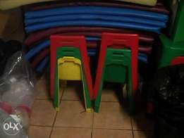 Day care matrass and chairs second hand