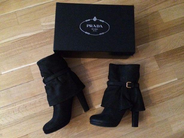 Ботинки Prada из нубука, оригинал.Б У  2 000 грн. - Женская обувь ... 5aaa8ef20c2