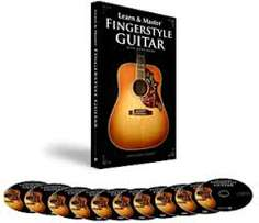 Learn And Master Fingerstyle Guitar (Home Study Course (DVD Videos))