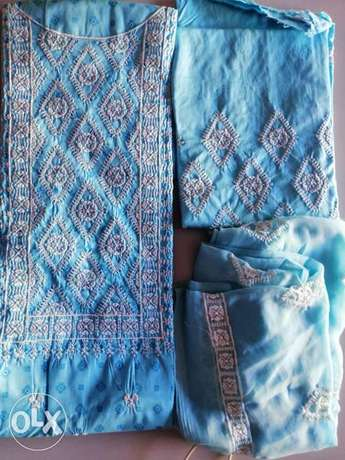 Embroidery shirt with duppta
