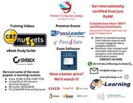 IT Short Courses (CCNA;MCSE;A+;N;ITIL;etc)