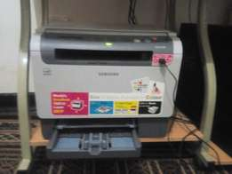 3 in 1 Samsung colour printer for sale