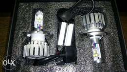 LED H4 bulbs