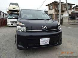 Just arrived Toyota voxy black colour kcm number vvti engine