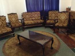 Imbuia Complete Ball & Claw Lounge Suite