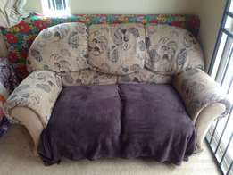2 seater couch ,with 1seater couch