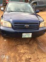 registered 2006 model Toyota Highlander registered