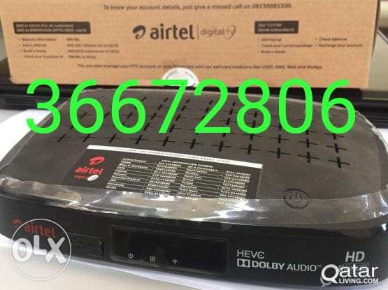 Airtel receiver full HD new call me my number anytime
