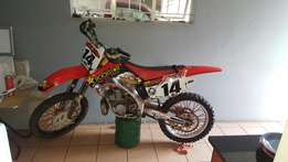 Honda cr250 to swop WHY