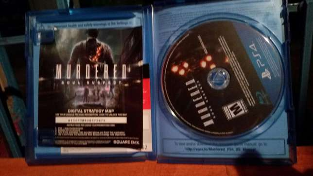 Ps4 game. MURDERED:soul suspect Langata - image 1